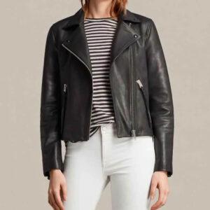 Fear The Walking Dead Alicia Clark Black Leather Jacket