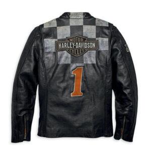Harley Davidson Race Inspired 1903 Leather Jacket
