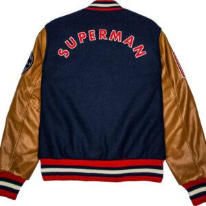 Justice League Superman Varsity Jacket