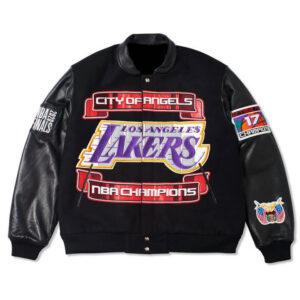 Los Angeles Lakers 2020 Championship Varsity Jacket