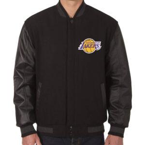 Los Angeles Lakers Reversible Varsity Jacket