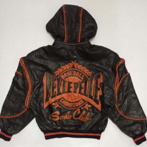 Pelle Pelle Baseball Soda Club Leather Jacket