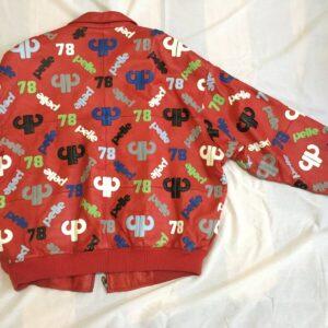 Vintage Pelle Pelle Red Leather Jacket