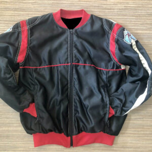 Black Red Kawasaki Bomber Jacket