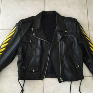 Early 1990's Indian Motorcycle Racing Leather Jacket