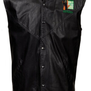 Genesis Invisible Touch World Tour Leather Vest