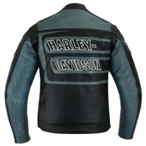 Harley Davidson Marker Black Leather Jacket