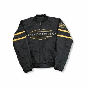 Harley Davidson Motorcycle Zip Up Racing Jacket