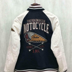 Indian Motorcycle Racing Varsity Jacket
