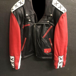 Jeff Hamilton Indian Spirit Biker Leather Jacket