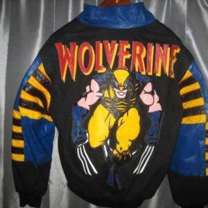 Jeff Hamilton Wolverine Leather Jacket