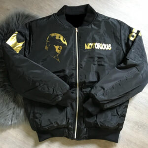 Notorious It Was All A Dream Big Bomber Satin Jacket