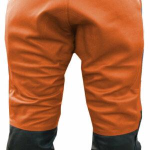 Orange Suzuki GSX Motorcycle Leather Pant