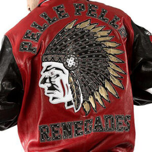 Pelle Pelle Indian Renegades Fire Red Leather Jacket