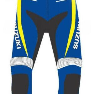 Suzuki Motorcycle Racing Leather Pant
