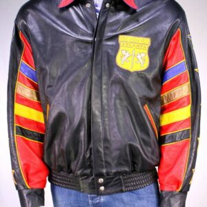 The Gold Club Atlanta Gold Room King Leather Jacket
