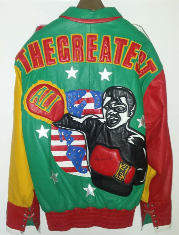 The Greatest of All Time Muhammad Ali Leather Jacket