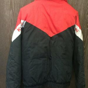 Red Black Kawasaki Motorcycle Racing Jacket