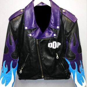 WWE Diamond Dallas Page Biker Leather Jacket