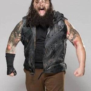 WWE Wrestler Bray Wyatt Leather Vest