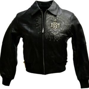 Black Pelle Pelle 1978 Studded Leather Jacket