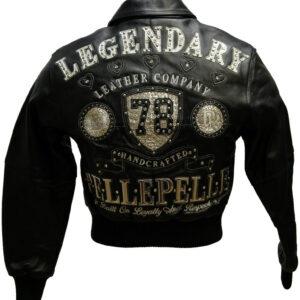 Black Pelle Pelle Legendary 1978 Studded Leather Jacket