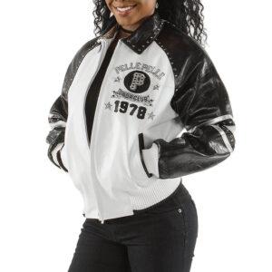 Black Soda Club Pelle Pelle 78 Stud Leather Jacket