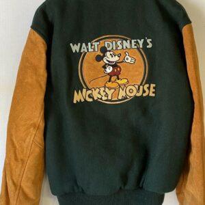 Disney Channel Mickey Mouse Letterman Varsity Jacket