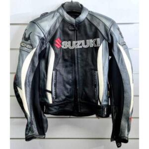GSXR Suzuki Nexo Motorcycle Racing Leather Jacket