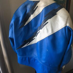 GSXR Suzuki Vanson Motorcycle Racing Leather Jacket