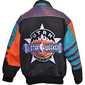 NBA 1993 Utah Jeff Hamilton All Star Weekend Jacket