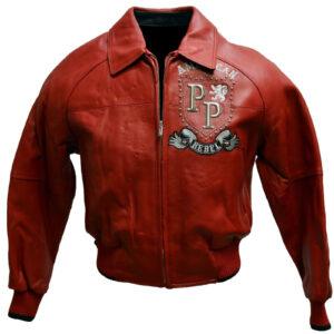 Pelle Pelle American Rebels Red Studded Leather Jacket