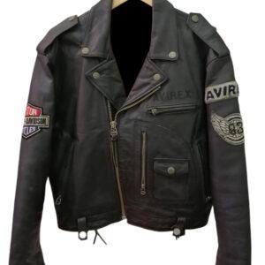 Vintage AVIREX Daytona To L.A USA Tour Leather Jacket