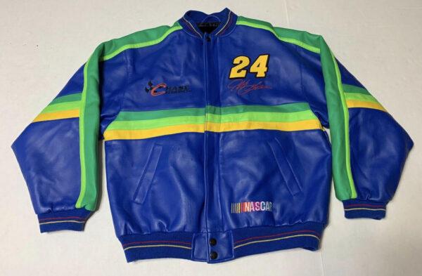 Vintage Jeff Gordon NASCAR Leather Jacket