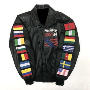 Vintage World Cup USA 1994 Leather Jacket