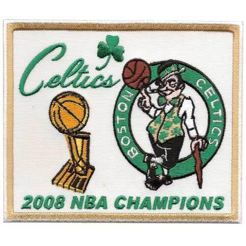 2008 NBA Finals Champions Boston Celtics Patch