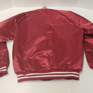 Arizona Cardinals Red Satin Bomber Jacket
