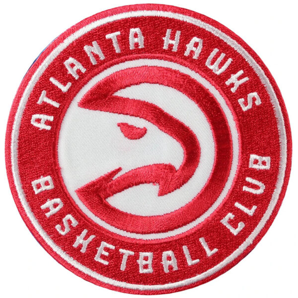 Atlanta Hawks Team Logo Iron On NBA Patch