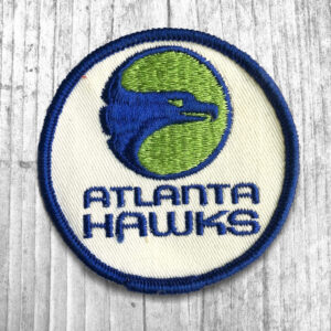 Atlanta Hawks Vintage NBA Primary Team Logo Patch