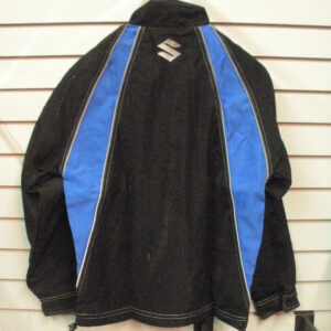 Black Blue Suzuki Motorcycle Textile Jacket