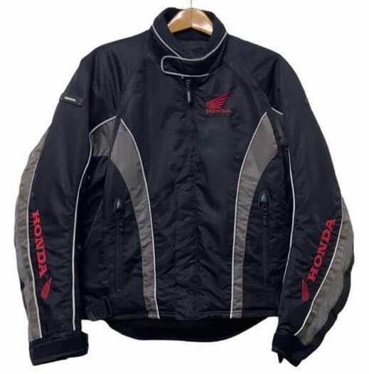 Black Gray Honda Motorcycle Textile Jacket