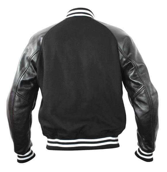 Black Gray Honda Red Riders Varsity Jacket