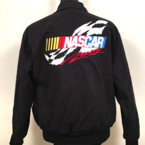 Black NASCAR Racing Cafe Bomber Jacket
