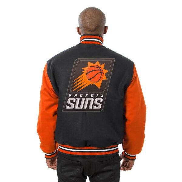 Black Phoenix Suns Domestic Two Tone Wool Jacket