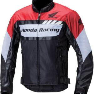 Black Red Honda Motorcycle Racing Jacket