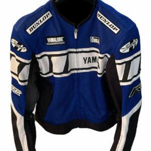 Blue White Yamaha Motorcycle Joe Rocket Textile Jacket