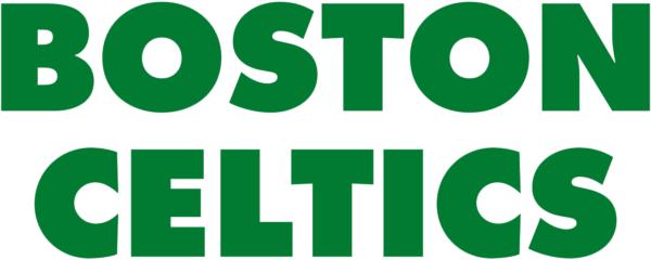 Boston Celtics 1976 Pres Wordmark Logo V2 Patch