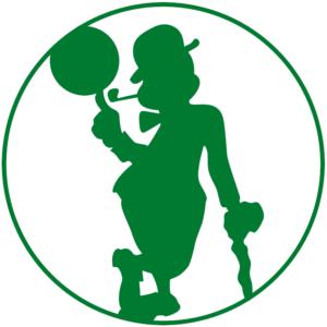 Boston Celtics 2014 Pres Alternate Logo Patch