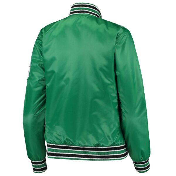 Boston Celtics Hometown Satin Full Snap Jacket