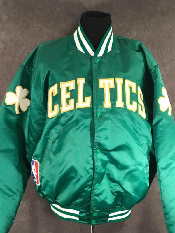 Boston Celtics NBA Green Satin Jacket